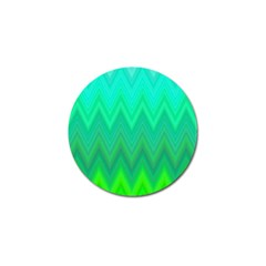 Zig Zag Chevron Classic Pattern Golf Ball Marker (10 Pack) by Nexatart