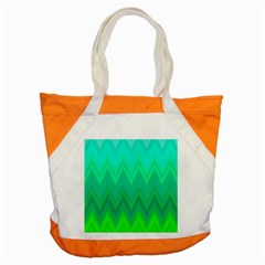 Zig Zag Chevron Classic Pattern Accent Tote Bag by Nexatart