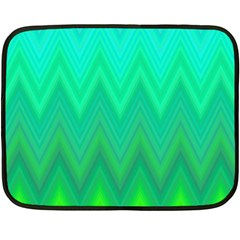 Zig Zag Chevron Classic Pattern Double Sided Fleece Blanket (mini)