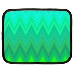 Zig Zag Chevron Classic Pattern Netbook Case (xl)