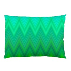 Zig Zag Chevron Classic Pattern Pillow Case (two Sides) by Nexatart