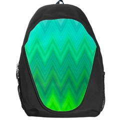 Zig Zag Chevron Classic Pattern Backpack Bag by Nexatart