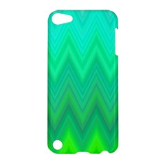 Zig Zag Chevron Classic Pattern Apple Ipod Touch 5 Hardshell Case by Nexatart