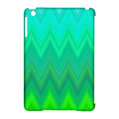 Zig Zag Chevron Classic Pattern Apple Ipad Mini Hardshell Case (compatible With Smart Cover)