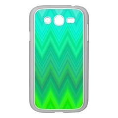 Zig Zag Chevron Classic Pattern Samsung Galaxy Grand Duos I9082 Case (white) by Nexatart