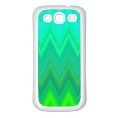 Zig Zag Chevron Classic Pattern Samsung Galaxy S3 Back Case (white)