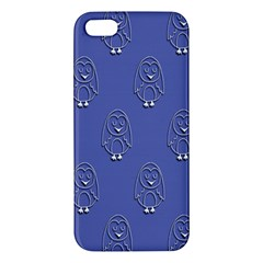Owl Pattern Wallpaper Vector Apple Iphone 5 Premium Hardshell Case