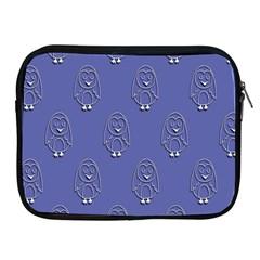 Owl Pattern Wallpaper Vector Apple Ipad 2/3/4 Zipper Cases