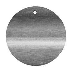 Ombre Round Ornament (two Sides) by ValentinaDesign
