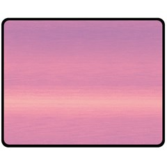 Ombre Double Sided Fleece Blanket (medium)  by ValentinaDesign