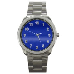 Ombre Sport Metal Watch by ValentinaDesign