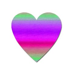 Ombre Heart Magnet by ValentinaDesign