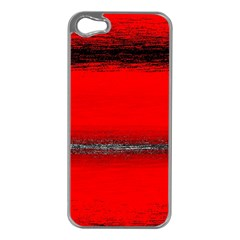 Ombre Apple Iphone 5 Case (silver) by ValentinaDesign
