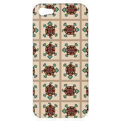 Native American Pattern Apple Iphone 5 Hardshell Case by linceazul