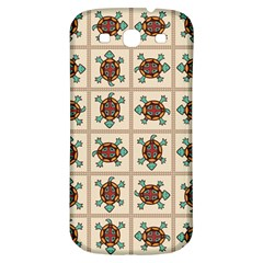 Native American Pattern Samsung Galaxy S3 S Iii Classic Hardshell Back Case by linceazul