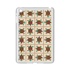 Native American Pattern Ipad Mini 2 Enamel Coated Cases by linceazul
