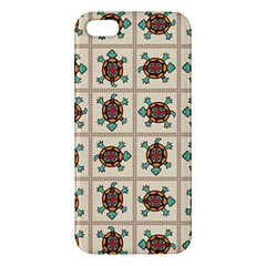 Native American Pattern Apple Iphone 5 Premium Hardshell Case by linceazul