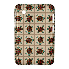 Native American Pattern Samsung Galaxy Tab 2 (7 ) P3100 Hardshell Case  by linceazul