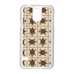 Native American Pattern Samsung Galaxy S5 Case (white) by linceazul