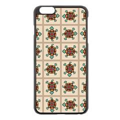 Native American Pattern Apple Iphone 6 Plus/6s Plus Black Enamel Case by linceazul