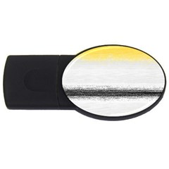 Ombre Usb Flash Drive Oval (4 Gb) by ValentinaDesign