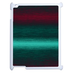 Ombre Apple Ipad 2 Case (white) by ValentinaDesign