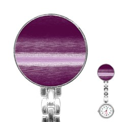 Ombre Stainless Steel Nurses Watch by ValentinaDesign