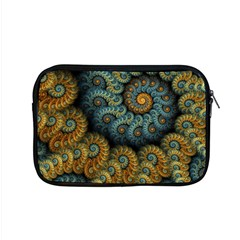 Spiral Background Patterns Lines Woven Rotation Apple Macbook Pro 15  Zipper Case by amphoto