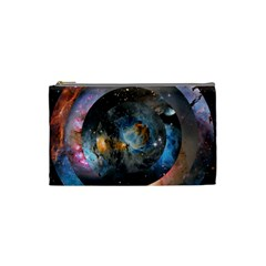 Abstract Abstract Space Resize Cosmetic Bag (small)  by amphoto