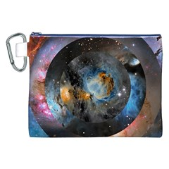 Abstract Abstract Space Resize Canvas Cosmetic Bag (xxl) by amphoto