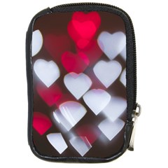 Highlights Hearts Texture  Compact Camera Cases by amphoto