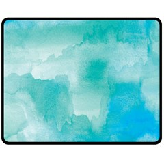 Ombre Fleece Blanket (medium)  by ValentinaDesign