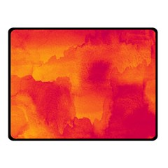 Ombre Fleece Blanket (small) by ValentinaDesign