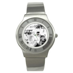Ombre Stainless Steel Watch by ValentinaDesign