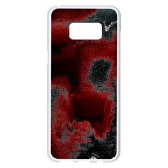 Ombre Samsung Galaxy S8 Plus White Seamless Case by ValentinaDesign