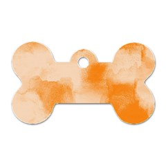 Ombre Dog Tag Bone (one Side) by ValentinaDesign