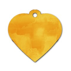 Ombre Dog Tag Heart (two Sides) by ValentinaDesign