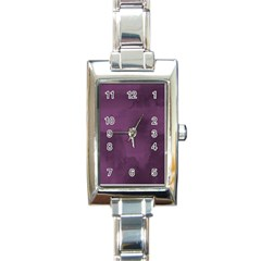 Ombre Rectangle Italian Charm Watch by ValentinaDesign