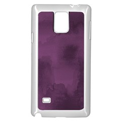 Ombre Samsung Galaxy Note 4 Case (white) by ValentinaDesign