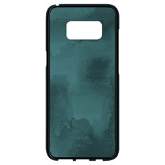 Ombre Samsung Galaxy S8 Black Seamless Case by ValentinaDesign