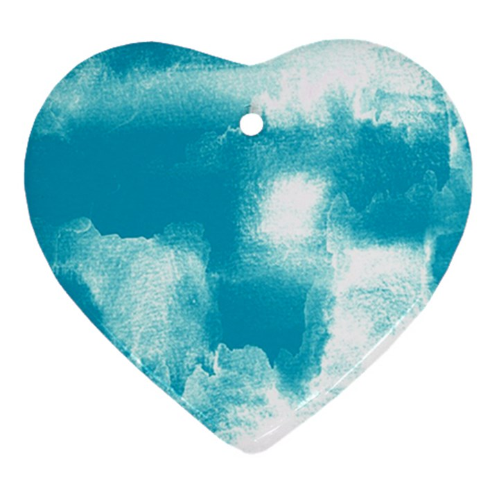 Ombre Heart Ornament (Two Sides)