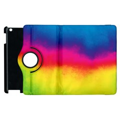 Ombre Apple Ipad 2 Flip 360 Case by ValentinaDesign