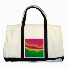 Ombre Two Tone Tote Bag by ValentinaDesign