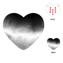 Ombre Playing Cards (heart)  by ValentinaDesign