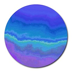 Ombre Round Mousepads by ValentinaDesign
