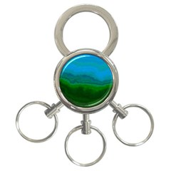 Ombre 3 Ring Key Chains by ValentinaDesign
