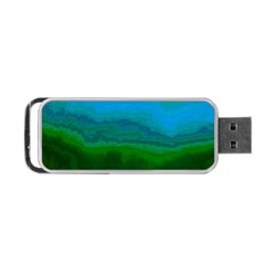 Ombre Portable Usb Flash (one Side) by ValentinaDesign