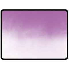 Ombre Double Sided Fleece Blanket (large)  by ValentinaDesign