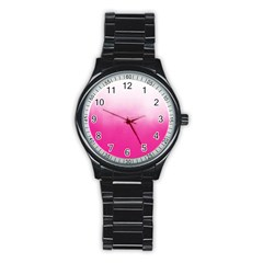 Ombre Stainless Steel Round Watch by ValentinaDesign