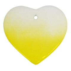 Ombre Heart Ornament (two Sides) by ValentinaDesign